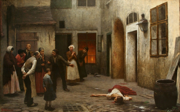 Jakub_Schikaneder_-_Murder_in_the_House